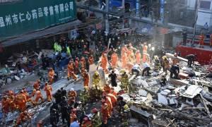 Κίνα: Τουλάχιστον 17 νεκροί από κατάρρευση πολυκατοικιών (vid)