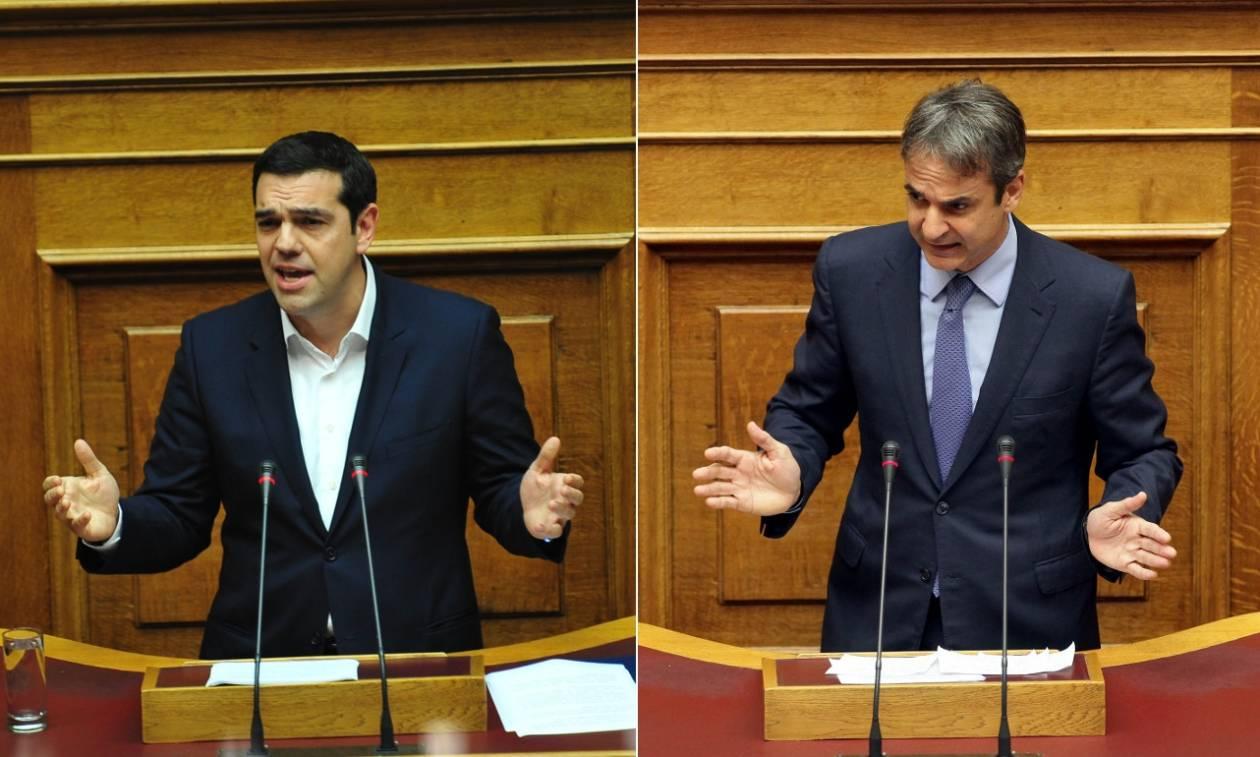 «Xαρτοπόλεμος» ΣΥΡΙΖΑ - ΝΔ για το ποιος είναι πιο διαπλεκόμενος