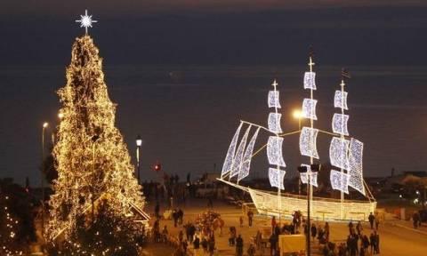 Θεσσαλονίκη: Έτσι θα στολιστεί η πλατεία Αριστοτέλους για τα φετινά Χριστούγεννα