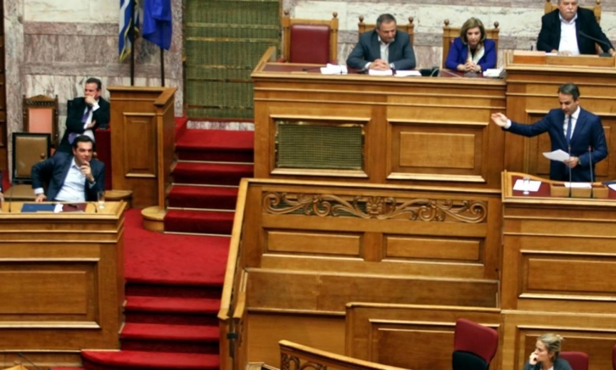 Μητσοτάκης σε Τσίπρα: Όχι σε εμένα ενικό. Είστε ο πιο ψεύτης και ανίκανος πρωθυπουργός της Ελλάδας
