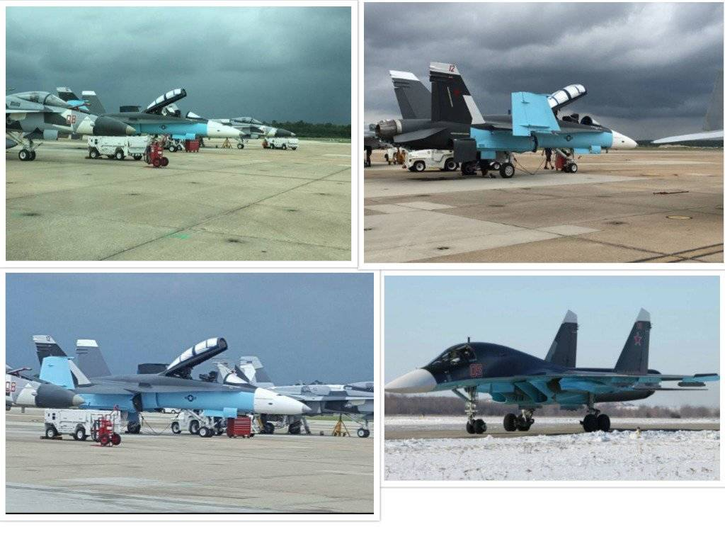«Προβοκάτσια;» Αεροσκάφη των ΗΠΑ με ρωσικά χρώματα βάζουν «φωτιά» σε θεωρίες συνομωσίας