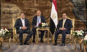 Μήνυμα Τσίπρα από το Κάιρο: Η Τουρκία να σεβαστεί το διεθνές δίκαιο (photo-video)