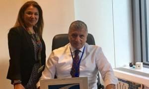 Στο γραφείο της ΚΕΔΕ στις Βρυξέλλες ο Πρόεδρος Γιώργος Πατούλης