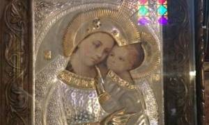 Η Εικόνα της Παναγίας της Γιάτρισσας στη Χαλκίδα