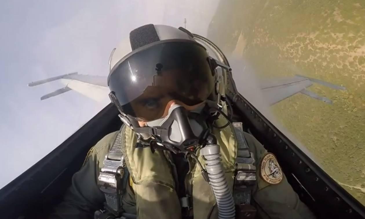 Έτσι «πολεμούν» τα «γεράκια» του Αιγαίου - Mirage 2000 εναντίον F-16 στον Παρμενίωνα (vid)