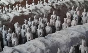 Συγκλονιστική ανακάλυψη: Ο Πήλινος Στρατός στην Κίνα φτιάχτηκε από Αρχαίους Έλληνες (Pics)