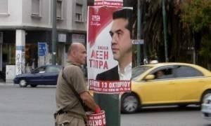 Συνέδριο ΣΥΡΙΖΑ: Γέμισε η Αθήνα με τη φάτσα του Τσίπρα
