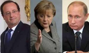 Συρία: Έκκληση Ολάντ και Μέρκελ στον Πούτιν για εκεχειρία - Νέοι φονικοί βομβαρδισμοί στο Χαλέπι