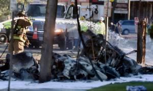 ΗΠΑ: Πτώση αεροσκάφους με «οσμή» τρομοκρατίας (pics+vid)