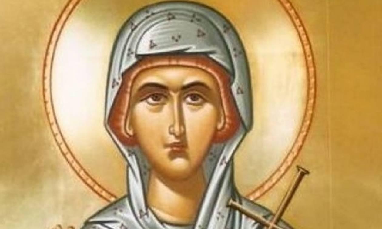 Αγία Χρυσή η Νεομάρτυς, εορτάζει 13 Οκτωβρίου
