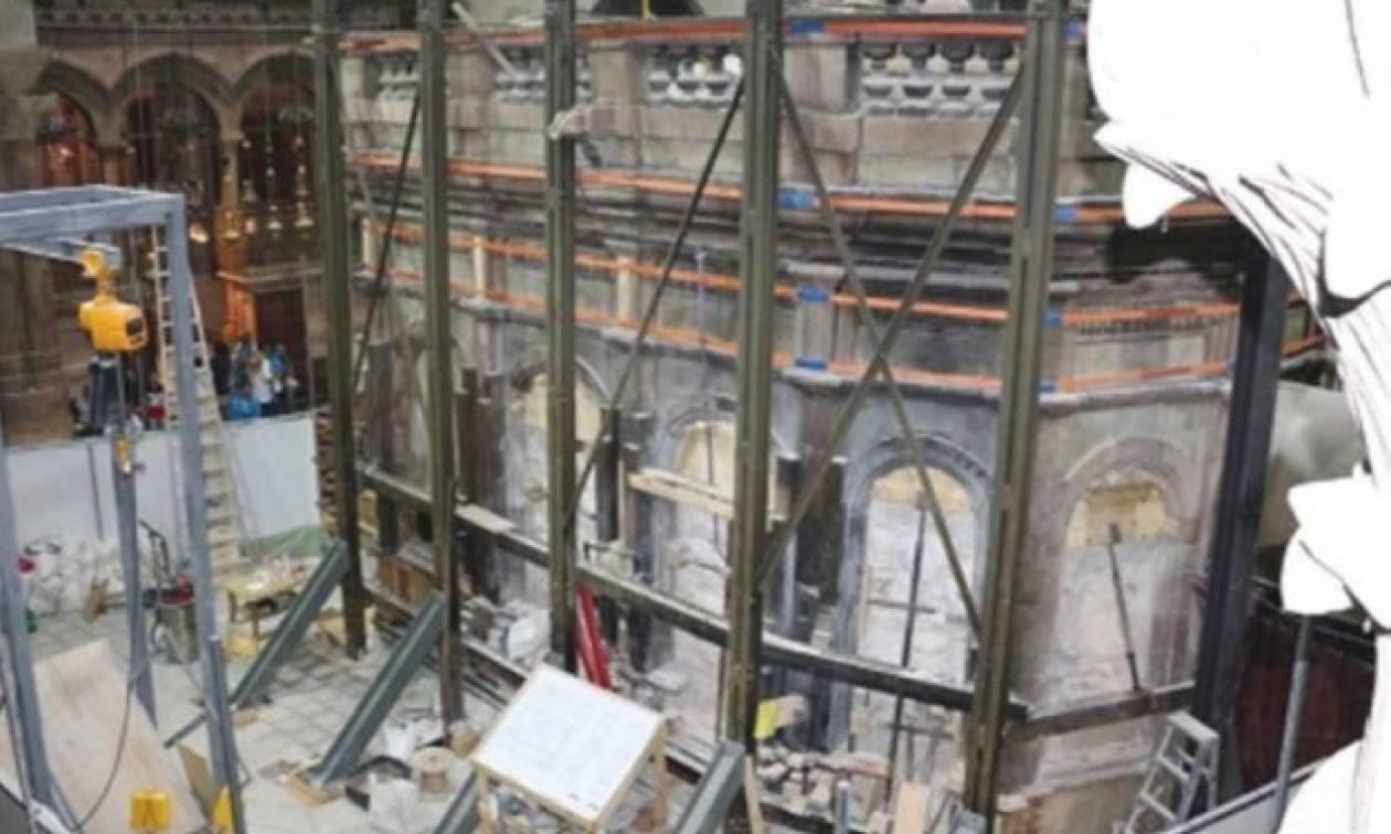 Στη Ρόδο η παρουσίαση της αναστήλωσης του Ιερού Κουβουκλίου του Παναγίου Τάφου