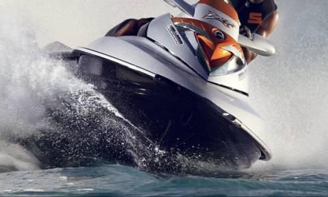 Σύγκρουση τζετ σκι στην Κρήτη - Τρεις τραυματίες