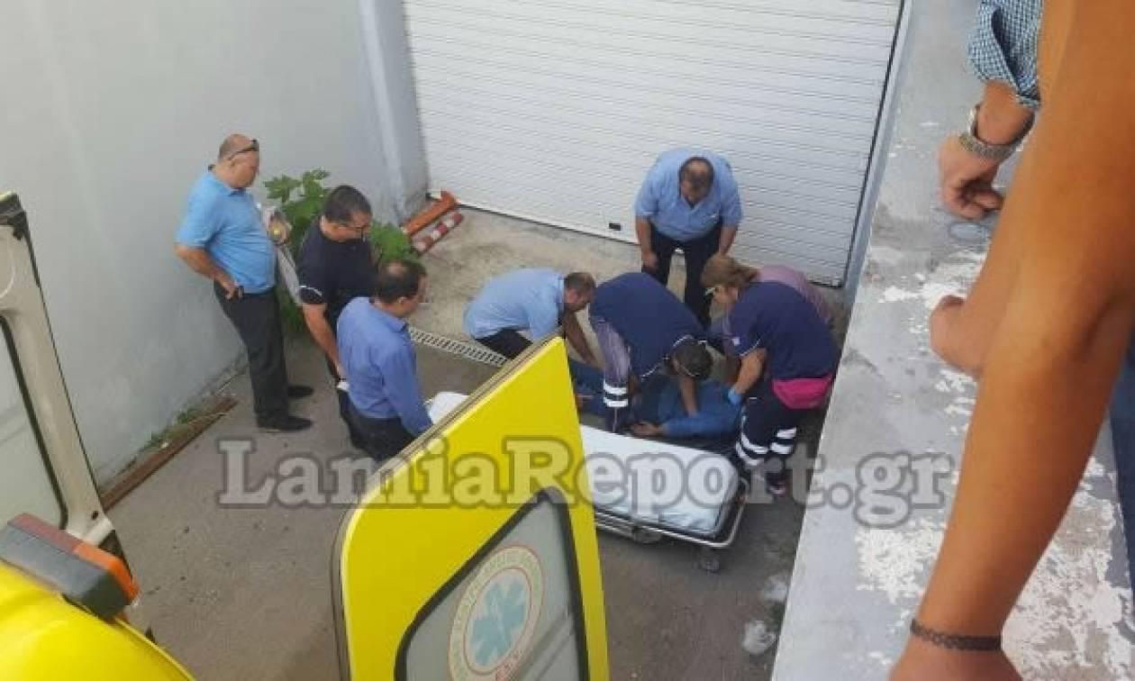 Σοβαρό ατύχημα στα ΚΤΕΛ Λαμίας (pics)