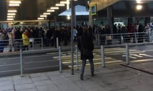Εκκενώθηκε το αεροδρόμιο της Αγίας Πετρούπολης έπειτα από απειλή για βόμβα (pic & vid)