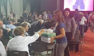 Έβγαλαν «δίσκο» στο Συνέδριο του ΣΥΡΙΖΑ