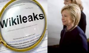 Σφοδρό πλήγμα στη Χίλαρι Κλίντον: Η WikiLeaks αποκαλύπτει τη σχέση της με την Goldman Sachs
