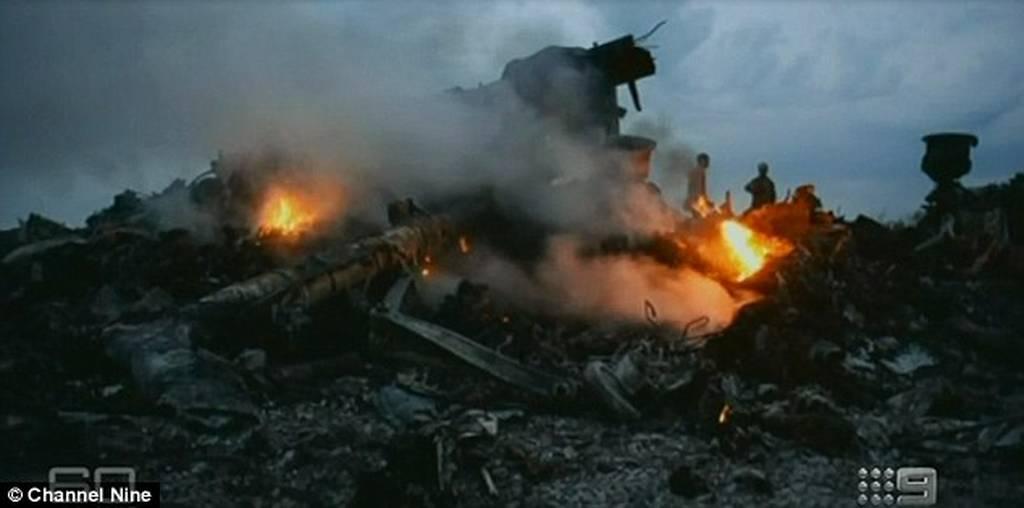 Φρικιαστικές εικόνες από τη μοιραία πτήση MH17