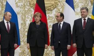 Κρίσιμη συνάντηση Μέρκελ, Ολάντ, Πούτιν και Ποροσένκο στο Βερολίνο