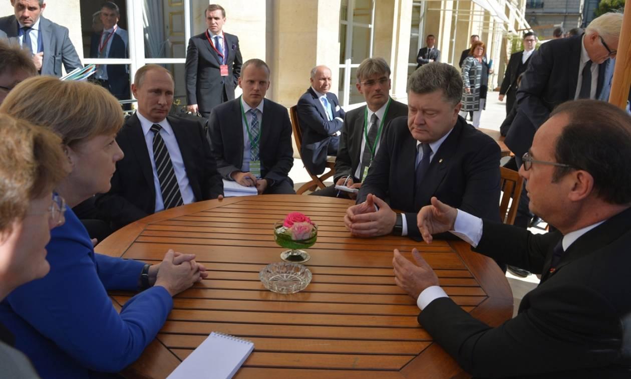 Τετραμερής συνάντηση στο Βερολίνο για την ουκρανική κρίση