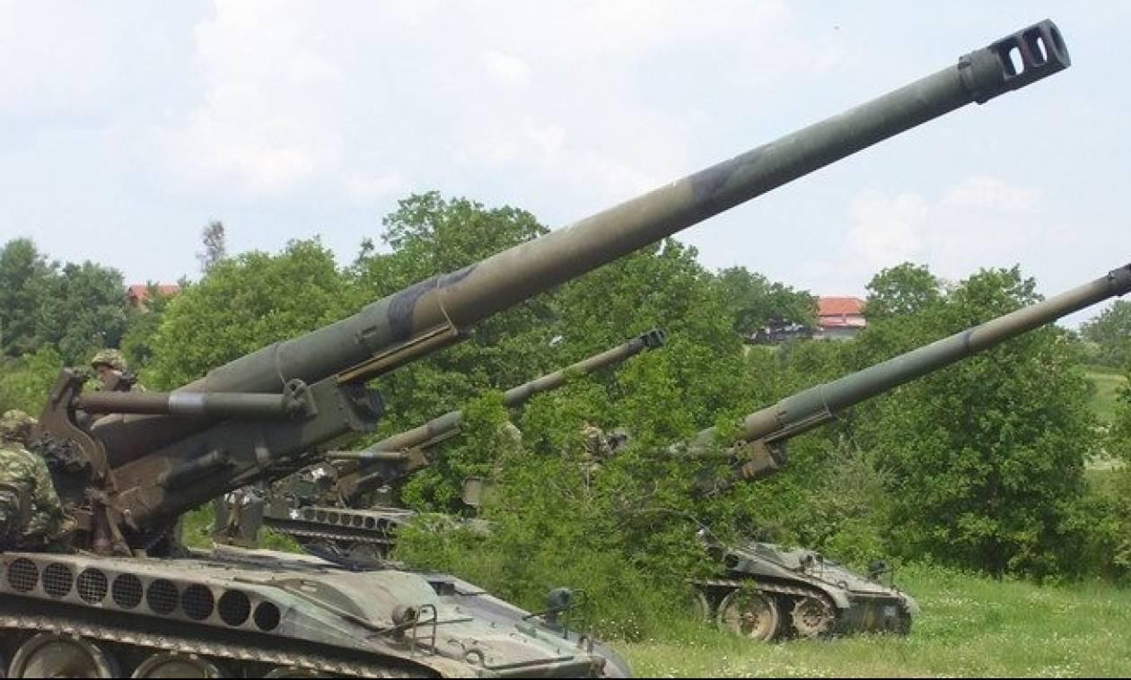 Πεζικό: Βολές Πυροβολικού και Α/Α όπλων στον «ΑΕΤΟ»