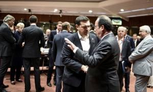 Με Μέρκελ και Ολάντ θα συναντηθεί ο Τσίπρας στις Βρυξέλλες