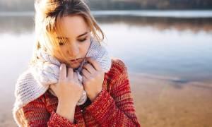 Κρυώνετε συνέχεια; Δείτε τι μπορεί να φταίει