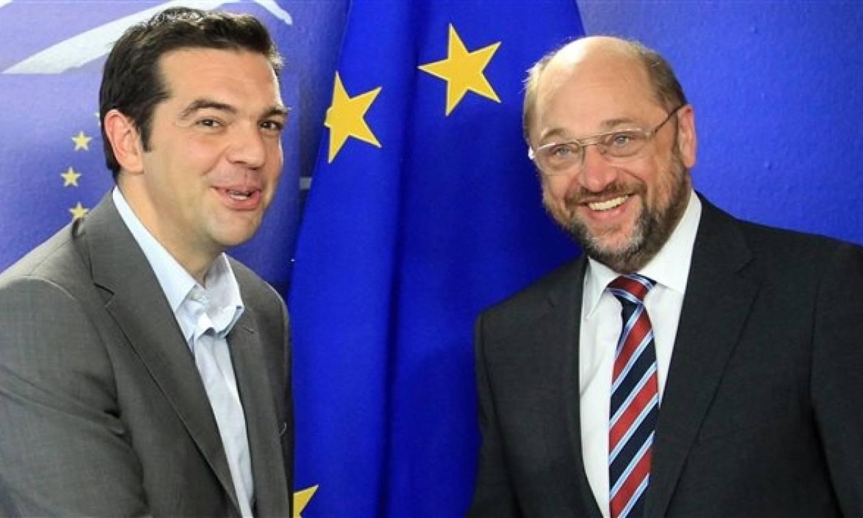 Το χρέος στο επίκεντρο των επαφών του Τσίπρα στις Βρυξέλλες