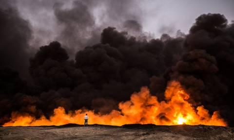 Ταχύτερα από το αναμενόμενο επελαύνει ο στρατός στη Μοσούλη -  Εντυπωσιακά πλάνα από τις μάχες (Vid)