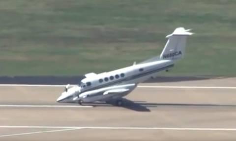 Viral video: «Φλέρταρε» με το Χάρο ο πιλότος αυτού του αεροπλάνου