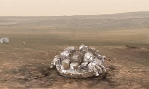 Διαστημική αποτυχία και πάλι για την Ευρώπη: Το σκάφος Σκιαπαρέλι συνετρίβη στον Άρη