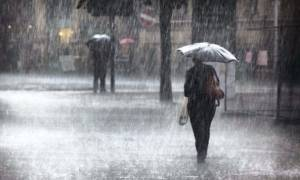 Βροχές και καταιγίδες το Σάββατο - Αναλυτική πρόγνωση