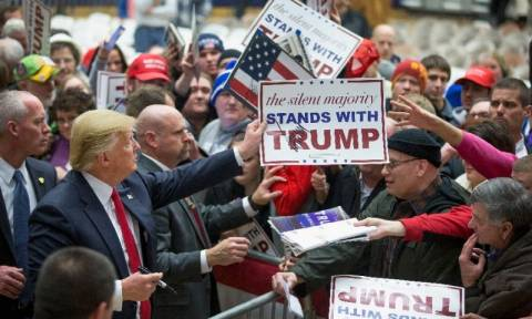 Προεδρικές εκλογές ΗΠΑ: Οι ψηφοφόροι του Τραμπ δεν θα αναγνωρίσουν πιθανή νίκη της Χίλαρι