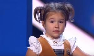 Ρωσία: Η 4χρονη που έχει... ταλέντο και μιλάει επτά γλώσσες!