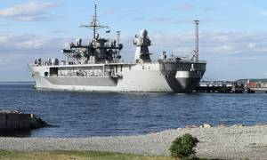 Η ναυαρχίδα του 6ου Στόλου στο Μπουργκάς