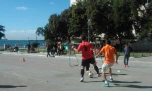 """Θεσσαλονίκη: """"Γκολ στη Φτώχεια"""" στην Πλατεία Αριστοτέλους"""