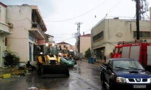 «Πνίγηκε» η Δυτική Ελλάδα από την κακοκαιρία - Το Μεσολόγγι μετρά τις πληγές του