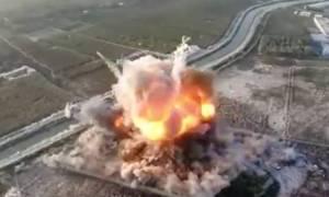 Το «μανιτάρι του θανάτου» Βίντεο σοκ από επίθεση αυτοκτονίας ταλιμπάν σε στρατιωτική βάση