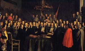 Σαν σήμερα το 1648 υπογράφεται η Συνθήκη της Βεστφαλίας