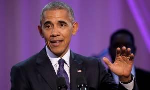 ΗΠΑ: Ο ξέφρενος χορός του Ομπάμα στον Λευκό Οίκο! (vid)