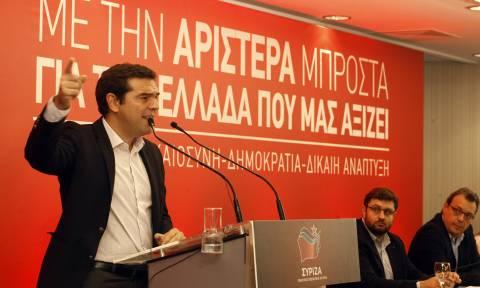 Αλ. Τσίπρας: Τις κυβερνήσεις τις εκλέγει ο λαός, δεν πέφτουν από δικαστικές αποφάσεις