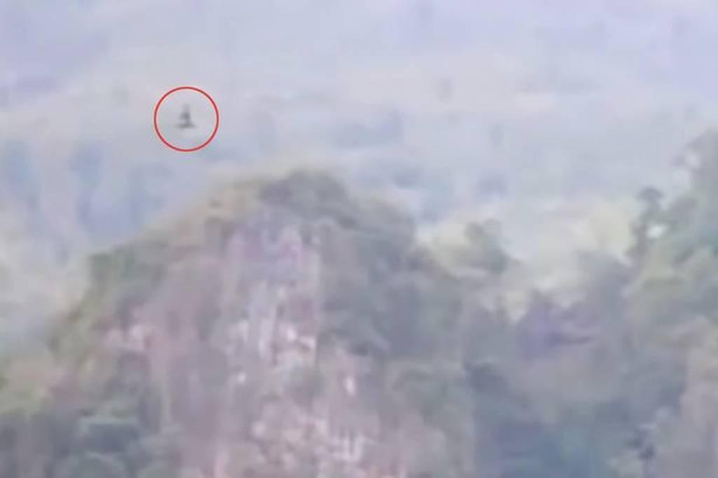 Παροξυσμός στο διαδίκτυο: «Συνέλαβαν» τεράστιο ιπτάμενο δράκο; (video+photos)