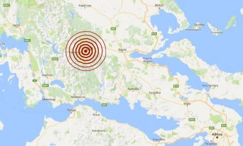 Σεισμός 3,7 Ρίχτερ κοντά στο Καρπενήσι (pics)