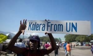 O OHE «ψάχνει» 200 εκατ. δολάρια για τα χιλιάδες θύματα της χολέρας στην Αϊτή