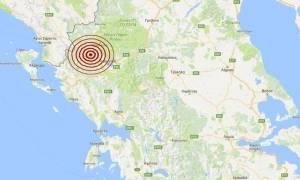 Σεισμός Ιωάννινα: Μετασεισμός 3,3 Ρίχτερ (pics)