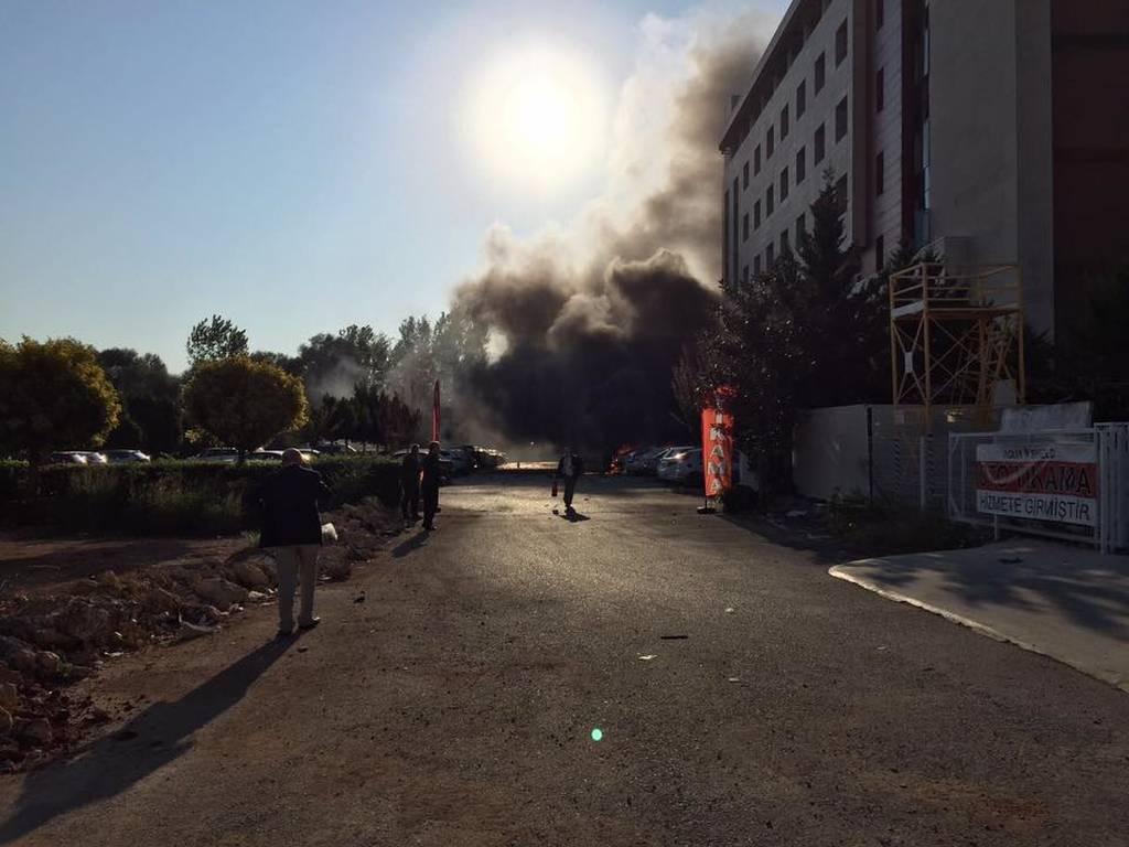 Τουρκία: Ισχυρή έκρηξη στην Αττάλεια