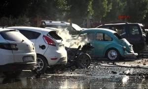 Τουρκία: Ισχυρή έκρηξη στην Αττάλεια (Pics+Vids)