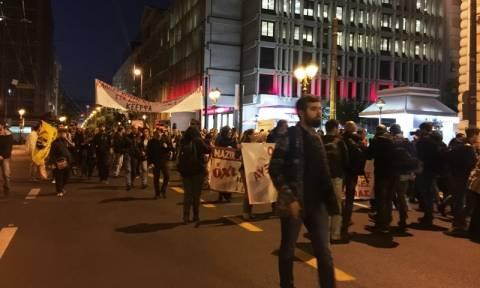 Συγκέντρωσης διαμαρτυρίας ΟΛΜΕ και ΔΟΕ στο Σύνταγμα (pics)