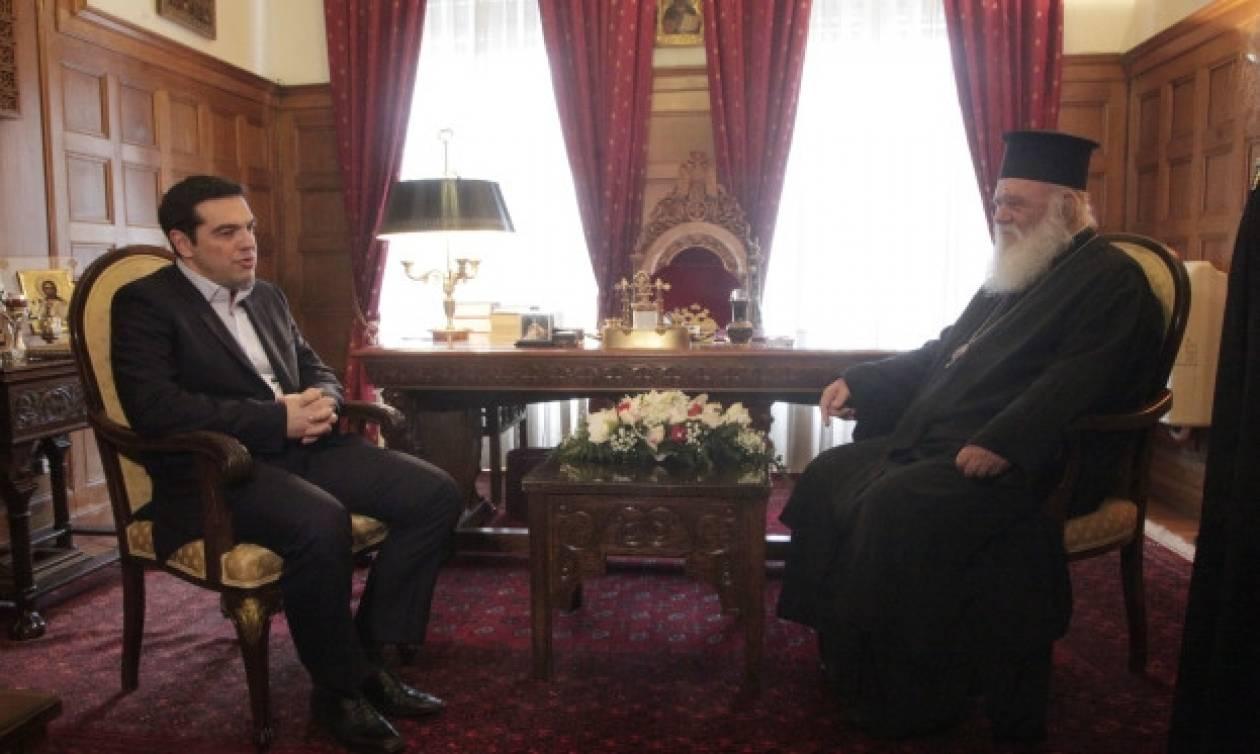Αρχιεπίσκοπος και Πρωθυπουργός στον Άη Στράτη για 28η Οκτωβρίου