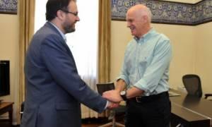Παπανδρέου και Θεοχαρόπουλος τα είπαν για την Κεντροαριστερά
