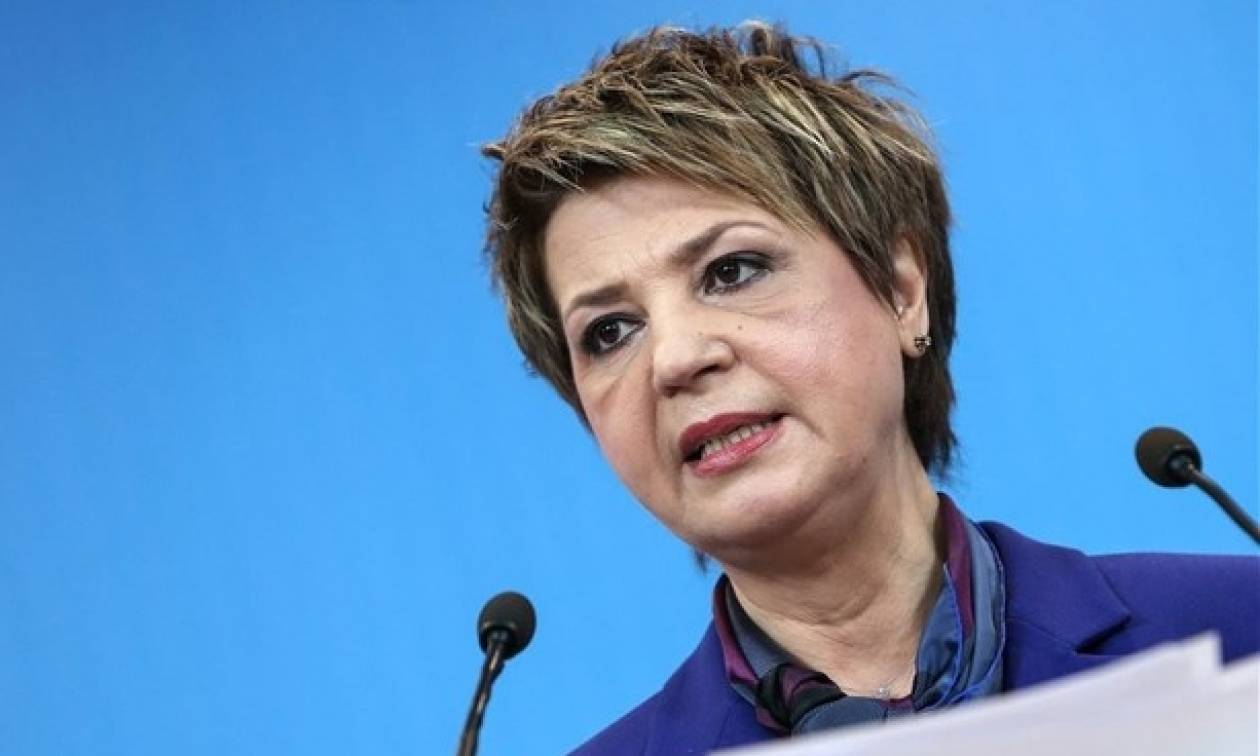 Τηλεοπτικές άδειες: Γεροβασίλη - Η νομοθετική πρωτοβουλία ανήκει στην κυβέρνηση